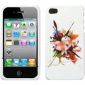 BasAcc Lotus Splash Slash Phone Case for Apple iPhone 4S/ 4