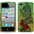 BasAcc Cougar Rose Phone Case for Apple iPhone 4S/ 4