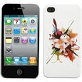 BasAcc Lotus Splash Phone Back Case for Apple iPhone 4S/ 4