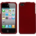BasAcc Solid Red Case for Apple iPhone 4S/ 4