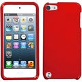 Insten Red Hard Snap-on Glossy Case Cover For Apple iPod Touch 5th/ 6th Gen