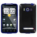 BasAcc Blue Inverse Fusion Case for HTC EVO 4G