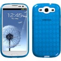 BasAcc Baby Blue/ Argyle Gel Candy Case for Samsung Galaxy S III i9300
