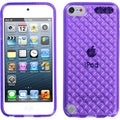 BasAcc Purple Diamond Candy Skin Case for Apple iPod touch 5