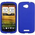 BasAcc Electric Blue Solid Skin Case For HTC One Vx