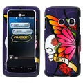 BasAcc Best Friend Purple Protector Case For LG Ln510 Rumor Touch