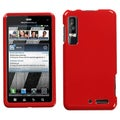 BasAcc Solid Flaming Red Protector Case For Motorola Xt862 Droid 3