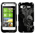 BasAcc Skull Wings Case for HTC Radar 4G