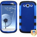BasAcc Blue/ Black TUFF Hybrid Case for Samsung Galaxy S3/ S III i9300