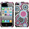 BasAcc Bubble Diamante Case for Apple iPhone 4/ 4S