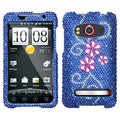 BasAcc Juicy Flower Diamante Case for HTC EVO 4G