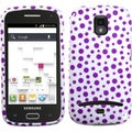BasAcc Purple Polka Dots Case for Samsung T699 Galaxy S Replay 4G
