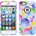 BasAcc Rainbow Bubble Circle Hard Protective Case for Apple iPhone 5