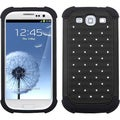 BasAcc Black Lattice Total Defense Case for Samsung� Galaxy S III