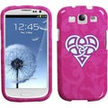 BasAcc Pink Celtic Heart Knot Protector Case for Samsung� Galaxy S III
