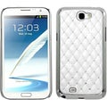 BasAcc Ivory White/ Silver Diamante Case for Samsung Galaxy Note 2