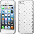 BasAcc Ivory White/ Silver Dazzling Diamond Case for Apple iPhone 5