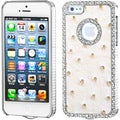 BasAcc Diamond Leather Case for Apple iPhone 5