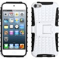 BasAcc White/ Black Advanced Armor Stand Case for Apple iPod touch 5