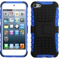 BasAcc Black/ Dark Blue Armor Stand Case for Apple iPod touch 5