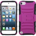 BasAcc Hot Pink/ Black Armor Stand Case for Apple� iPod touch 5