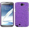BasAcc Baby Purple/ Pearl Case for Samsung Galaxy Note II T889/ I605