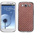 BasAcc Vermilion Silver/ Plaid Case for Samsung Galaxy S3/ III i9300