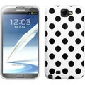 BasAcc Black Polka Dots Case for Samsung Galaxy Note II T889/ I605
