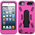 BasAcc Black/ Hot Pink Symbiosis Stand Case for Apple iPod touch 5