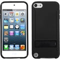 BasAcc Solid Black/ Black Case with Stand for Apple� iPod touch 5