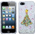 BasAcc Christmas Tree 3D Diamante Case For Apple� iPhone 5