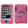 BasAcc Strawberry Case for Apple iPhone 3/ 3GS