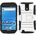 BasAcc White/ Black Holster Case with Stand for Samsung Galaxy S II/ S2 T989