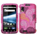 BasAcc Hearts Diamante Case for Motorola MB860 Olympus/ Atrix 4G