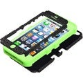 BasAcc Black/ Green Diamante Tuff Hybrid Case For Apple� iPhone 5