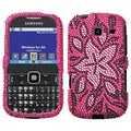 BasAcc Tasteful Flowers Diamante Case For Samsung� R380 Freeform III