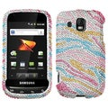 BasAcc Colorful Zebra Diamante Case For Samsung� M930 Transform Ultra