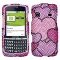 BasAcc Cloudy Hearts Diamante Case For Samsung� M580 Replenish
