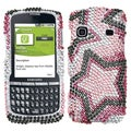 BasAcc Twin Stars Diamante Protector Case For Samsung� M580 Replenish