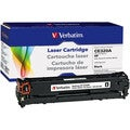 Verbatim Toner Cartridge - Remanufactured for HP (CE320A) - Black
