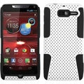 BasAcc White/ Black Case for Motorola XT907 Droid Razr M
