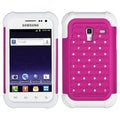 BasAcc Hot Pink/ White Case for Samsung R820 Galaxy Admire 4G
