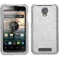 BasAcc Silver Diamante 2.0 Case for ZTE V8000 Engage