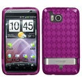 BasAcc Hot Pink Argyle Pane Candy Case for HTC ADR6400 Thunderbolt