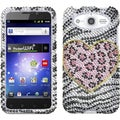 BasAcc Playful Leopard Diamante Case for Huawei M886 Mercury