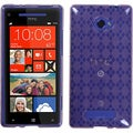 BasAcc Purple Argyle Candy Skin Case for HTC Windows Phone 8X