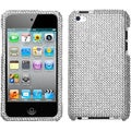 BasAcc Silver Diamante Case for Apple iPod Touch 4th Generation