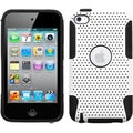 BasAcc White/ Black Astronoot Case for Apple iPod Touch 4th Generation