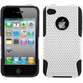BasAcc White/ Black Astronoot Protector Case for Apple iPhone 4G/ 4S