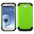 BasAcc Green/ Black Case for Samsung Galaxy S III/ S3